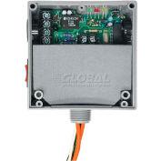 RIB® LonWorks Enc. Relay RIBTW2401SB-LN, 20A, SPST-N/O, 24VAC/DC/120VAC, HOA, Digital Input
