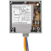 RIB® Enclosed Internal AC Sensor W/Relay RIBX243PA-NC, Adjustable, 20A, 3PST-NC, 24VAC/DC