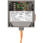 RIB® Enclosed Internal AC Sensor W/Relay RIBX24SBA, Adjustable, 20A, SPST, 24VAC/DC, Override