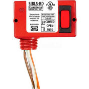 RIB® Enclosed Switch SIBLS-RD, 5A, 30VAC/DC, Maint. 3 Position, Center Off W/LED, Red Housing
