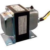 RIB® Transformer TR100VA001US, 100VA,120-24V, Single Hub, Foot Mount, Circuit Breaker