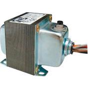 RIB® Transformer TR100VA005, 100VA, 120/240/277/480-24V, 1 Hub, Foot Mount, Circuit Breaker
