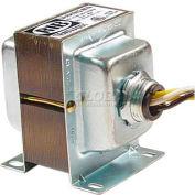 RIB® Transformer TR40VA001, 40VA, 120-24V, Single Hub, Foot Mount