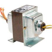 RIB® Transformer TR40VA004, 40VA, 277/240/208/120-24V, Dual Hub, Foot Mount