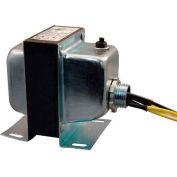 RIB® Transformer TR50VA005US, 50VA, 120-24V, Single Hub, Foot Mount, Circuit Breaker