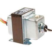 RIB® Transformer TR50VA008, 50VA, 208/240/277/480-120VAC, Dual Hub, Foot Mount, Circuit Breaker