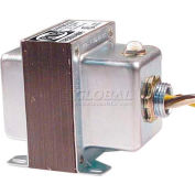RIB® Transformer TR50VA014, 50VA 277V-24V, Single Hub, Foot Mount, Circuit Breaker