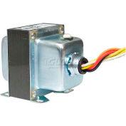 RIB® Transformer TR50VA016, 50VA, 240/208/120-24V, Single Hub, Foot Mount, Circuit Breaker