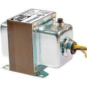 RIB® Transformer TR75VA001, 75VA, 120-24V, Single Hub, Foot Mount, Circuit Breaker