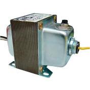 RIB® Transformer TR75VA007, 75VA, 120/208/240/480-24V, Dual Hub, Foot Mount, Circuit Breaker
