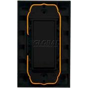 RIB® EnOcean® Enabled Wireless Wall Transmitter Switch WST-EN-BK, 315MHz, Black