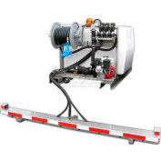 """200 Gallon DeIcing Sprayer, 12V / 7870 Pump, 75' of 1/2"""" Hose, Manual Reel, 6' Eco-Boom"""