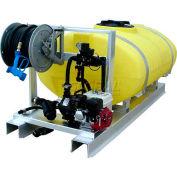 "300 Gallon DeIcing Sprayer, 5.5Hp / 200P Pump, 75' of 1/2"" Hose, Manual Reel, 7' Pro-Boom"