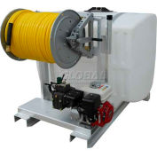 """300 Gallon Skid Sprayer, 13Hp / K75 Pump, 150' of 1/2"""" Hose, Manual Reel"""