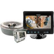"""Rosco 7"""" Color LCD, Rear Mount Cam w/Waterproof Twist Lock Connector - STSK7965"""