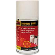 Sebreeze® 9000 Series Citrus Breeze Odor Neutralizer, Aerosol Can 4/Case - RCP516000