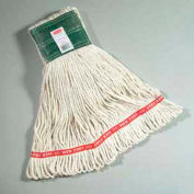 """Web Foot® Large Wet Mop Cotton/Synthetic Mop Head W/ 5"""" Headband, White 6/Pack - RCPA153WHI"""