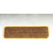 "Rubbermaid® 18"" Microfiber Scrubber Pad W/ Polypropylene Stripes, Yellow 6/Pack - RCPQ810YEL"
