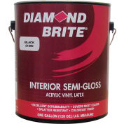 Diamond Brite Interior Semi-Gloss Paint, Black Gallon Pail 1/Case - 21200-1