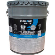 Diamond Brite Oil Enamel Paint, Silver Gray 5 Gallon Pail 1/Case - 31200-5