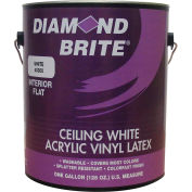 Diamond Brite Latex Ceiling Paint, White Gallon Pail 1/Case - 40300-1