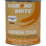 Diamond Brite Oil Varnish Stain Paint, Dark Walnut 32 Oz. Pail - 70100-4