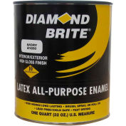 Diamond Brite Latex Gloss Ename Paintl, Hunter Green 32 Oz. Pail - 81650-4