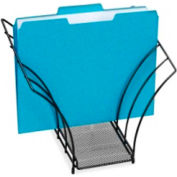 Rolodex Mesh Butterfly Sorter with 5 Veins Black