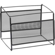 Rolodex Metal Mesh File Frame Holder  Black