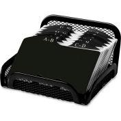 Rolodex Mesh Card File 125 Card Capacity Black