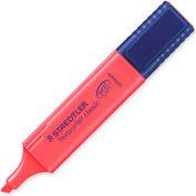 Staedtler® Textsurfer Classic Highlighter, Chisel Tip, Fluorescent Red Ink