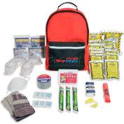 Ready America® Grab 'N Go Tornado Emergency Kit, 70287, 2 Person/3 Day Backpack