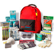 Ready America® Grab 'N Go 3 Day Essential Emergency Kit, 70380, 4 Person Backpack