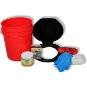 Ready America® 71640 Toilet Bucket Kit, 1-4 persons