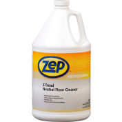 Zep® Z-Tread Neutral Floor Cleaner, Gallon Bottle, 4 Bottles - 1041452