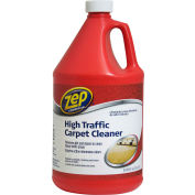 Zep® Commercial High-Traffic Carpet Cleaner - Gallon Bottle, 4 Bottles/Case - ZUHTC128
