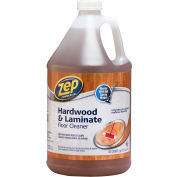 Zep® Commercial Hardwood & Laminate Floor Cleaner - Gallon Bottle, 4 Bottles/Case - ZUHLF128