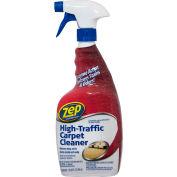 Zep® Commercial High-Traffic Carpet Cleaner - Quart Bottle, 12 Bottles/Case - ZUHTC32
