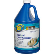 Zep® Neutral Floor Cleaner Concentrate, Gallon Bottle, 4 Bottles - ZUNEUT128
