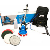 "MotorScrubber Jet Starter Kit With 27-1/2""- 55"" Telescoping Handle - MSJET"