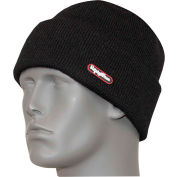 RefrigiWear® Marino Wool Watch Cap, Black, One Size, 0043RBLKOSA