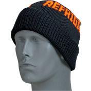Refrigiwear Watch Cap, Black with RefrigiWear Logo