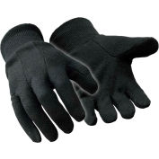 Value Jersey Glove, Black - Large - Pkg Qty 12