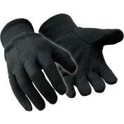 Value Jersey Glove, Brown - Large - Pkg Qty 12