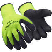 Hivis™ Ergogrip Glove, Hivis Lime-Yellow - Large - Pkg Qty 12