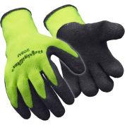Hivis™ Ergogrip Glove, Hivis Lime-Yellow - Medium - Pkg Qty 12