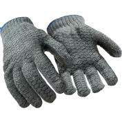 Value Honeycomb Grip Glove, Gray - Xl - Pkg Qty 12