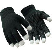 Touch Screen Glove, Silver - S/M - Pkg Qty 12