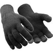 RefrigiWear Thermal Touchscreen Gloves, Black, L/XL, 1 Pair