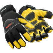 Lined High Dexterity Glove, Gold & Black - XL